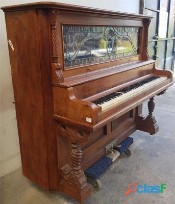 Piano M. SCHUTZ, Vertical alto, madera de Nogal. 7