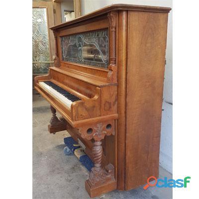 Piano M. SCHUTZ, Vertical alto, madera de Nogal. 6