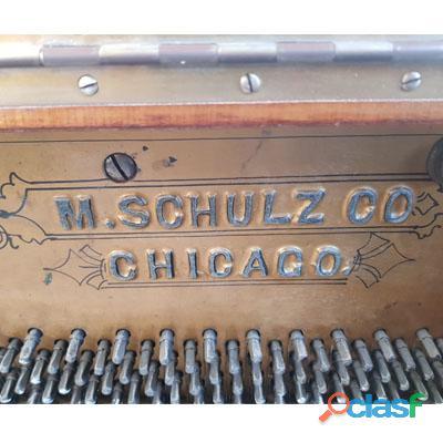 Piano M. SCHUTZ, Vertical alto, madera de Nogal. 4
