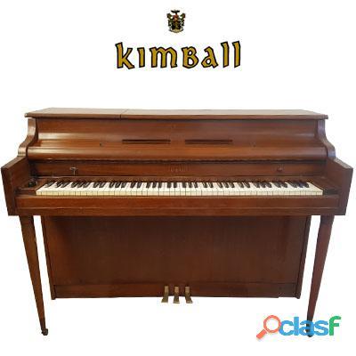 Piano marca kimball, origen chicago, madera nogal.