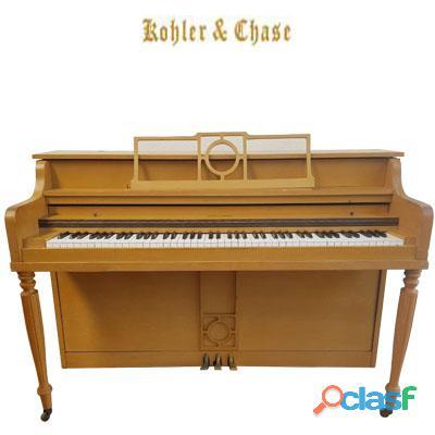 "Piano tipo espineta kohler & chase 38"" de alto."