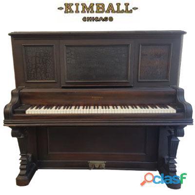 Piano vertical alto marca kimball, origen chicago.