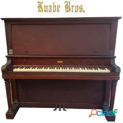 Piano vertical alto, marca the knabe bros.co.