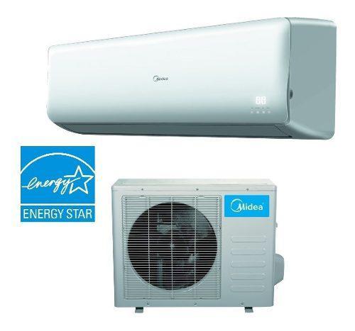 Aire acondicionado inverter midea 1 tonelada frio-calor 220v