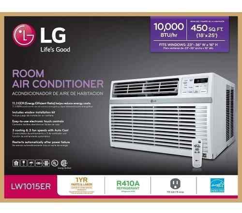 Aire acondicionado lg 10,000 btu lw1016er envio gratis 110v