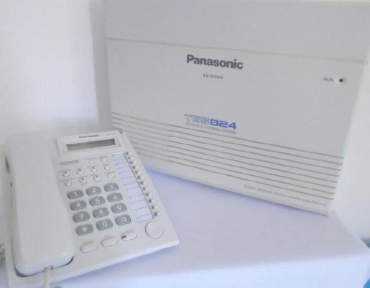 Conmutador panasonic tes824 con teléfono kx-t7730