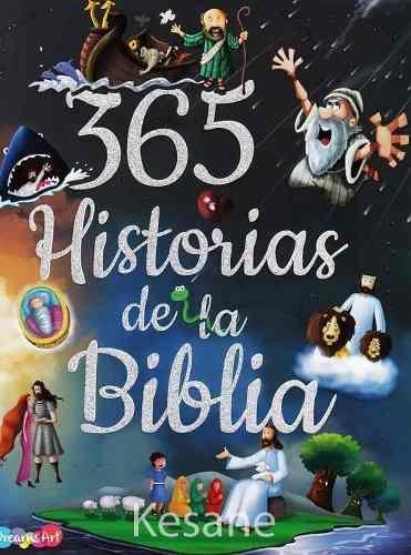 Libro 365 historias de la biblia cuentos infantiles p/