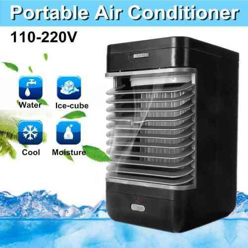 Mini aire acondicionador ventilador escritorio aire enfriado