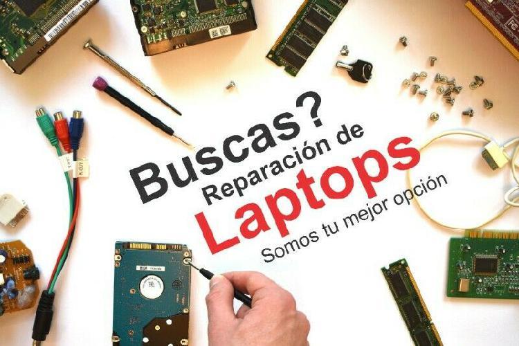 Reparacion de laptop y equipo de computo