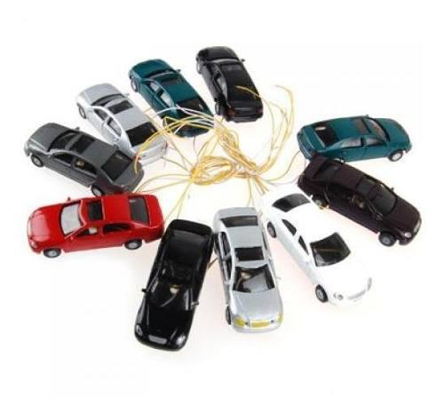 10 unidades head light ho escala 1: 100 modelos de autos