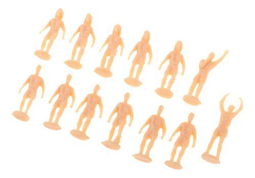 1/87 escala ho oo modelo figuras de futbolista para diorama