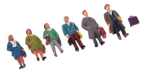 1:87 ho oo figuras figurtia para modelismo diorama diseño