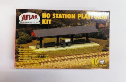 Atlas ho station platform kit