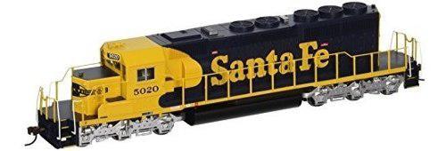 Bachmann industries santa fe #5020 emd sd40-2 dcc equipped