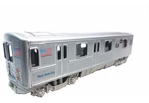Ciudad de nueva york de nueva york mta n tren metro en coche