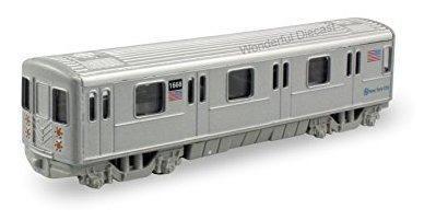 Diecast modelo metro metro tren 7