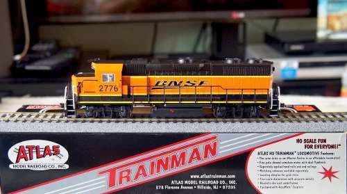 Locomotora atlas gp39-2 de bnsf escala ho