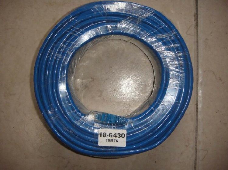 Cable ethernet rj-45 30m uso profesional utp cat 5e