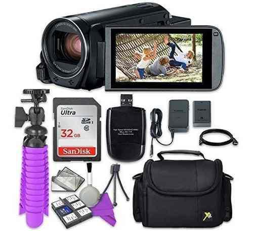 Hf G21 Full HD Videograbadora LCD Rápido Cargador De Batería Para Canon Vixia Hf G10 Hf G20