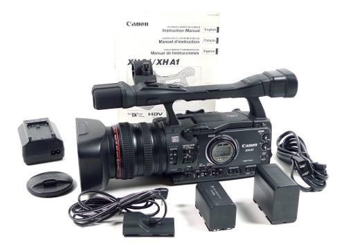 Canon xh-a1 hd hdv 1080i minidv videocamara xha1