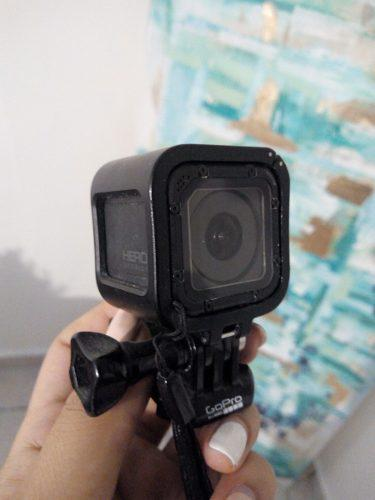 Cámara gopro hero session - videocámara deportiva de 8 mp