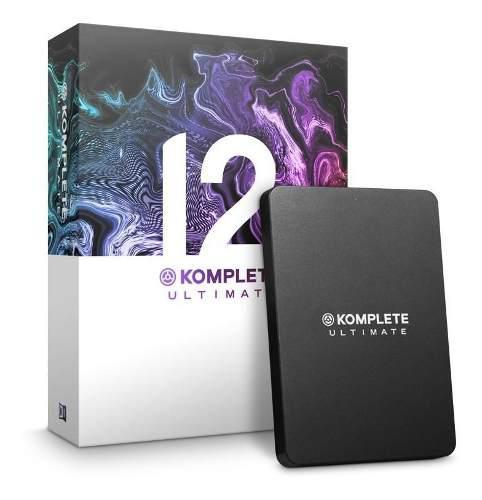 Komplete 12 ultimate licencia retail original