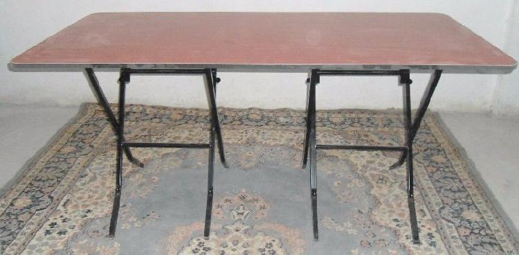 Mega tamaño!! mesa de patas plegadizas de 80 x 160 cms