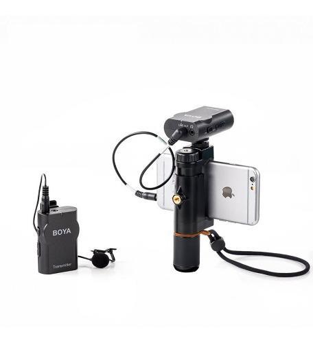 Micrófono lavalier inalámbrico boya by-wm4 uso general