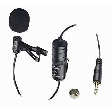 Micrófono vidpro lavalier clip para canon eos rebel t5i