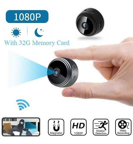 Mini cámara inalámbrica wifi ip seguridad videocámara hd
