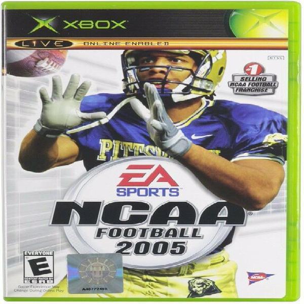 Ncaa football 2005 videojuego microsoft xbox