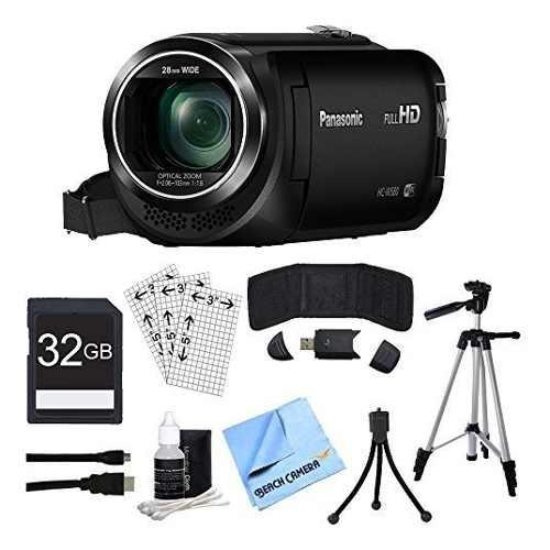 Panasonic hc-w580k - videocámara full hd con wi-fi, cámara
