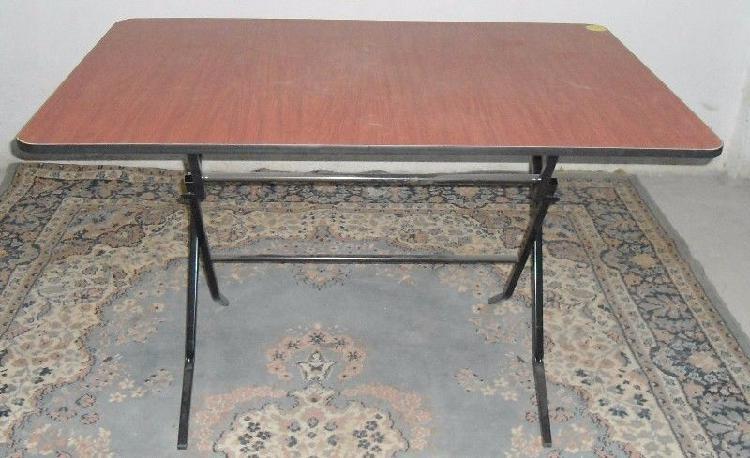 Super mesa de patas plegadizas de 80 x 120 cms