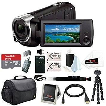 Videocámara sony hdrcx405 handycam + 64gb memoria