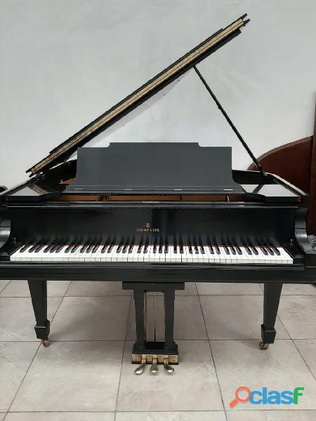 Hermoso piano marca steinway & sons modelo m, origen n.y.