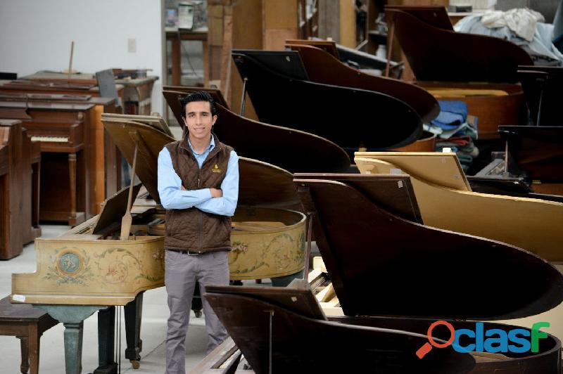 Hermoso piano marca STEINWAY & SONS Modelo M, origen N.Y. 2