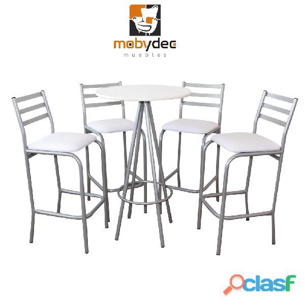 Periqueras sillas mesas muebles restauranteros mobydec