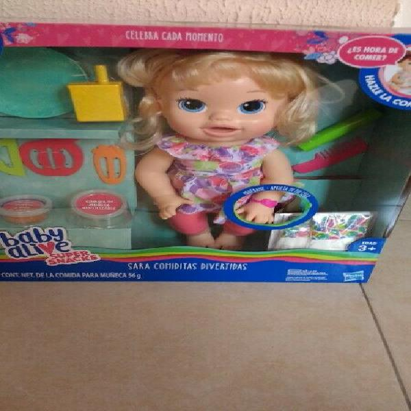 Baby alive Sara comiditas