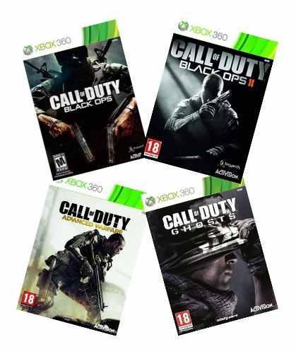 Call of duty black ops 2 y otros juegos.
