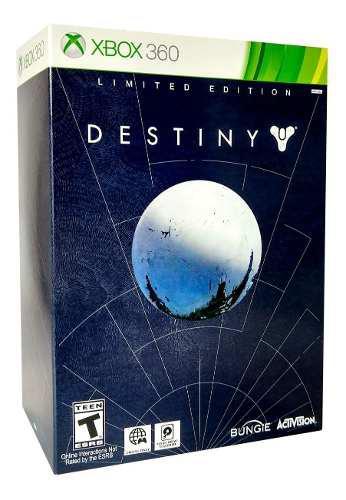 Destiny limited edition xbox 360 juego nuevo en karzov
