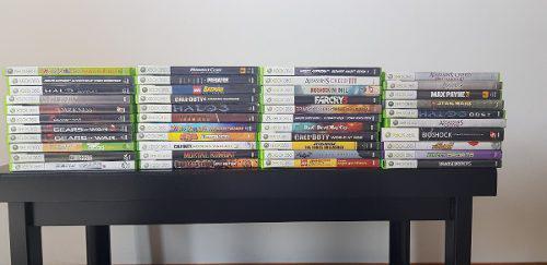 Gran catálogo de juegos de xbox 360. desde 350. seminuevos
