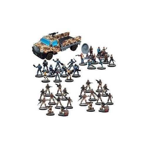 Juegos mantic mars attacks human army set