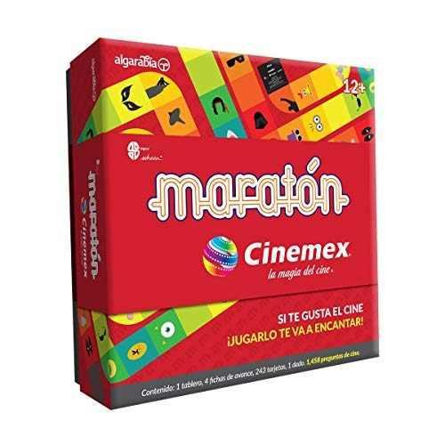 Maratón juego de preguntas edición cinemex la magia del