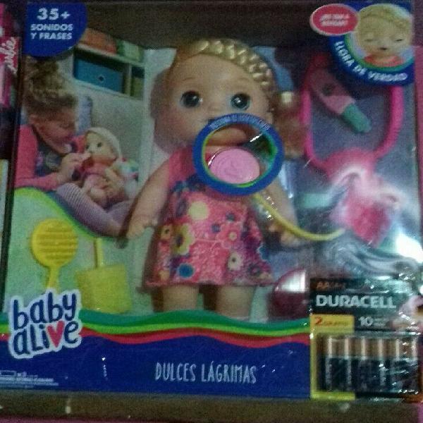 Muñeca baby alive llora de verdad nueva