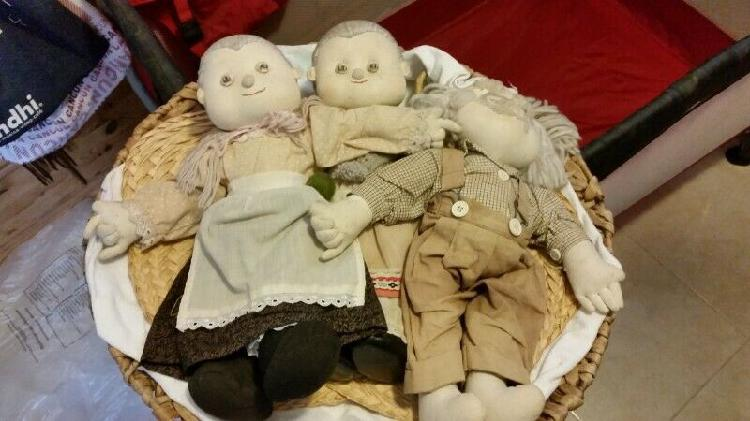 Muñecas de trapo antiguas de alemania