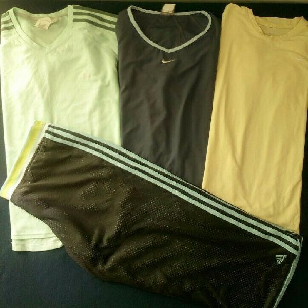 Paquete de ropa deportiva