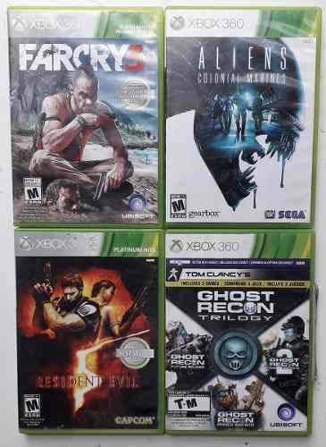 Video juegos xbox 360 originales usados