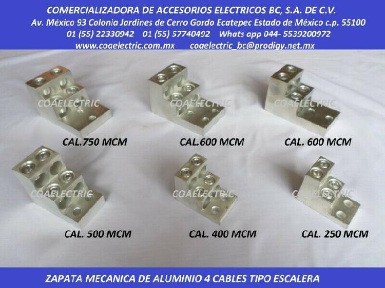 Zapatas mecanicas de aleacion de aluminio