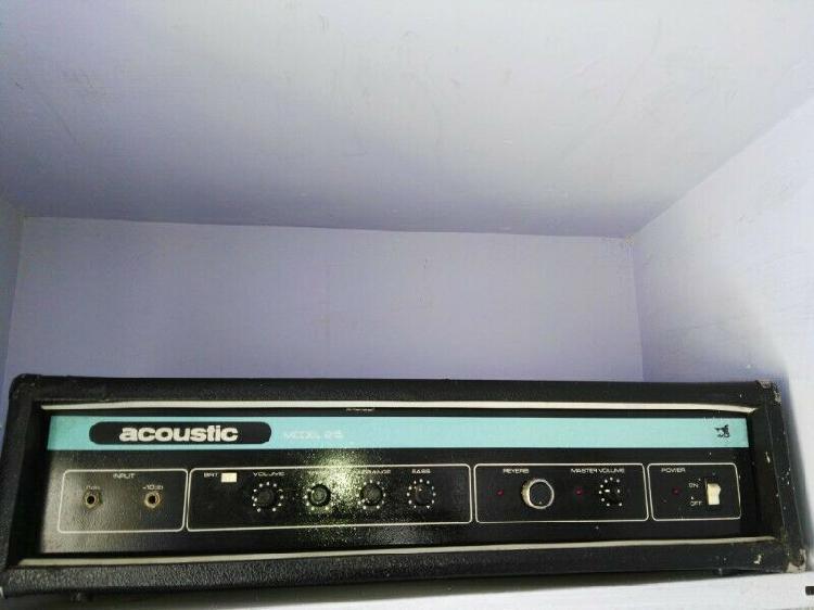 Amplificador acustic modelo 215 profesional