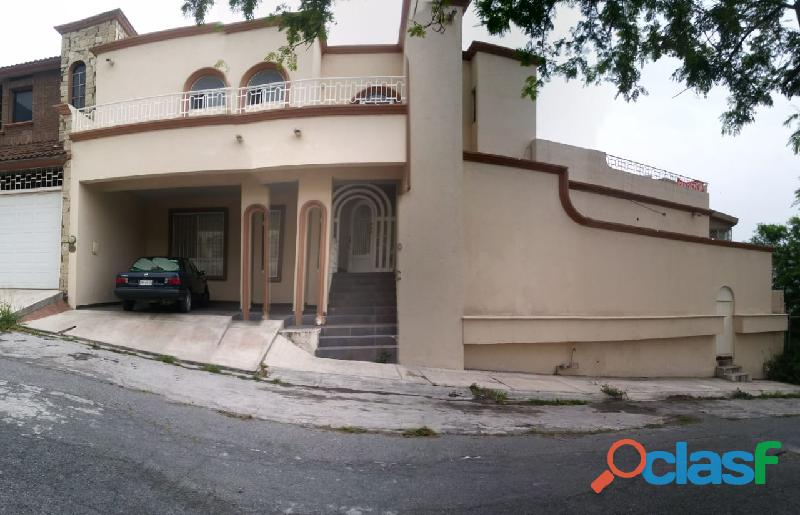 Hermosa casa zona en residencial cumbres 5to sector, mty